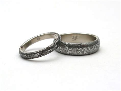 J.Arthur Loose: Damascus Rings, Blades & Jewelry