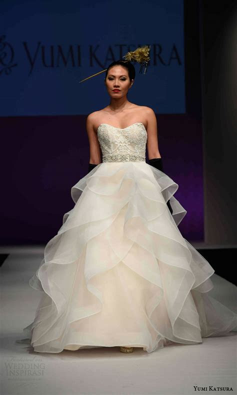 Yumi Katsura Fall 2016 Wedding Dresses ? 50th Anniversary