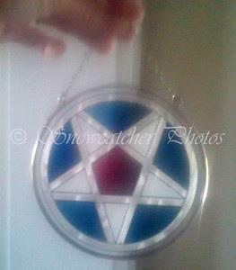 Nanci Lawson's glass star