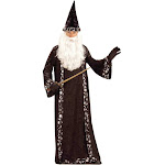 Oh Mr. Wizard Adult Costume - 52763 - Brown - One-Size