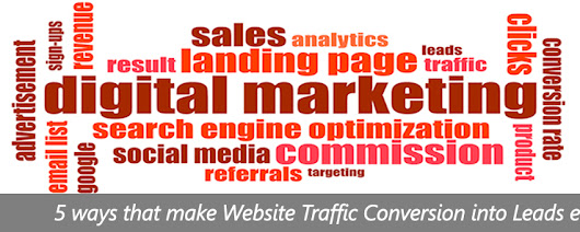 5 Ways That Make Website Traffic Conversion into Leads Easier