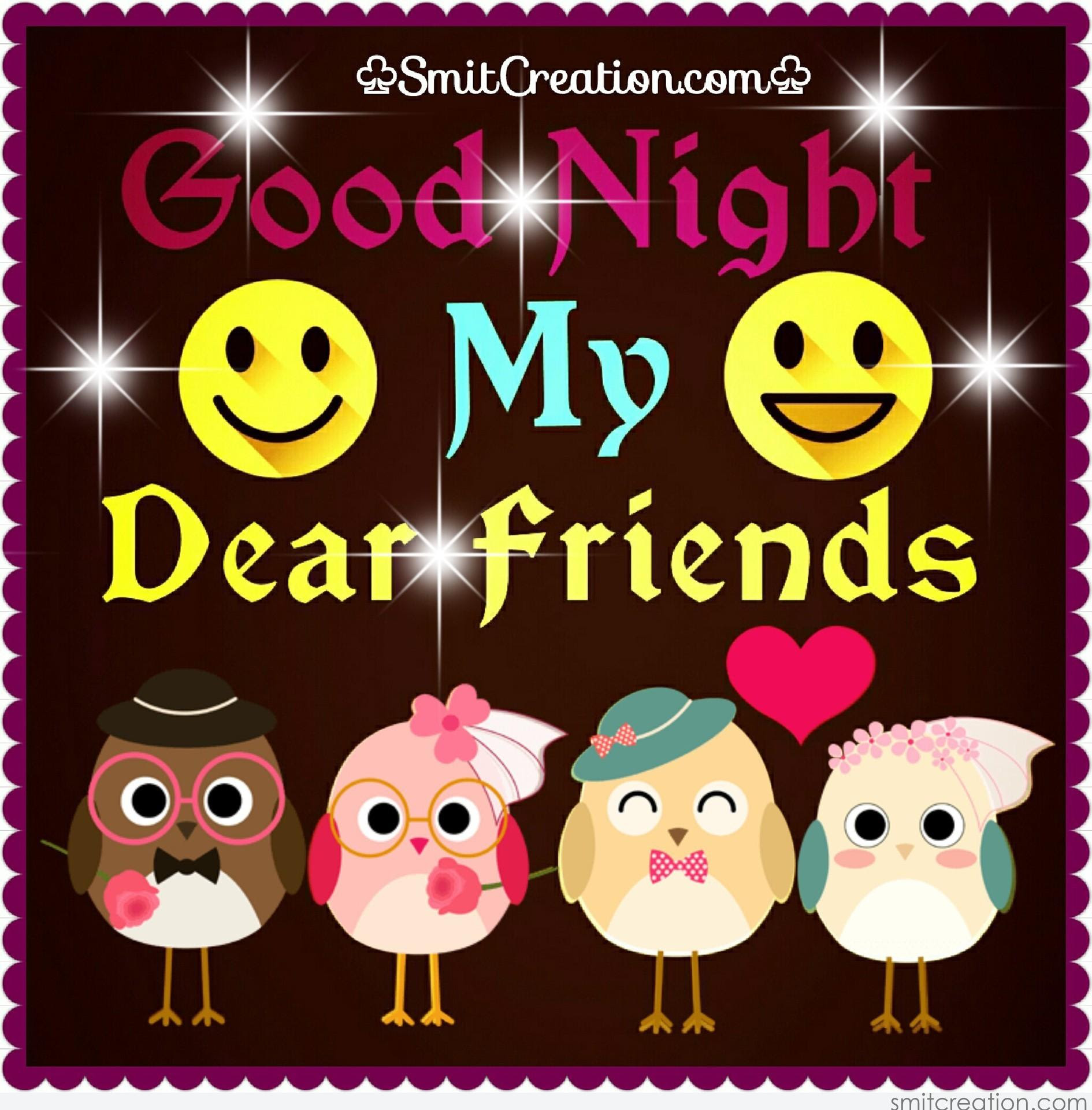 Awesome Good Night Images For Friends Top Colection For Greeting