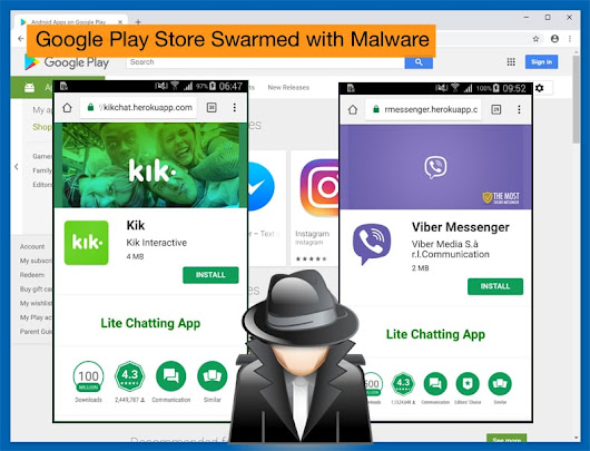 Google Play Store Swarmed with Malware