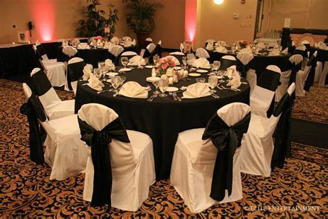 Chair covers and table cloth to use   Black And White
