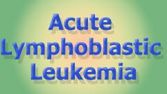 Acute Lymphoblastic Leukemia