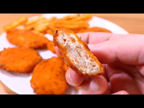 TASTY CHICKEN CHEESE NUGGETS - Easy Food Recipes For Dinner To Make At Home