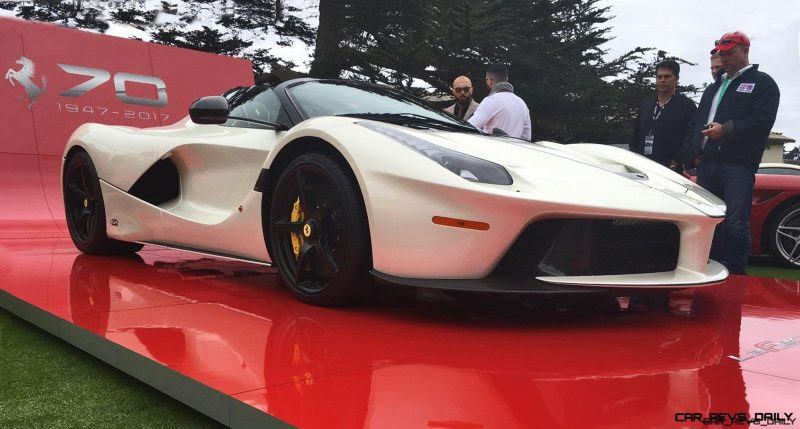 F70! 2017 Ferrari 70 Anni Collection at Pebble Beach ...