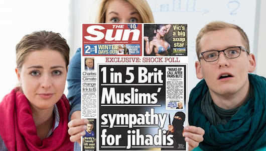 4 out of 5 Brits have sympathy for the morons who get their news from The Sun