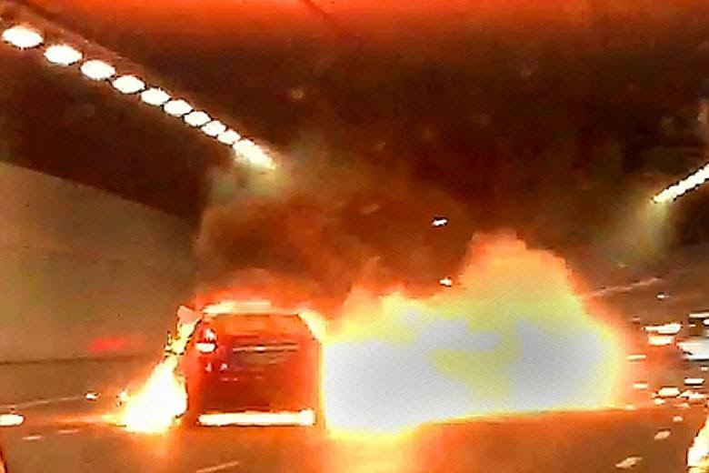 Jam in KPE after cab explosion