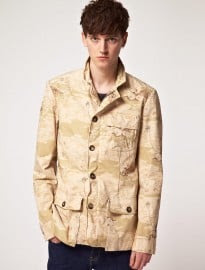 Shades Of Grey Safari Jacket