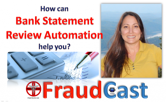 FraudCast – Bank Statement Review Automation
