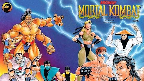 Mortal Kombat Collectors Edition Comic