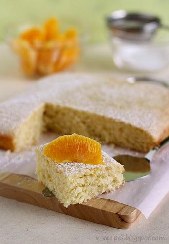 Orange Yoghurt Cake1