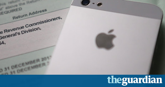 Apple ordered to pay up to €13bn after EU rules Ireland broke state aid laws | Business | The Guardian