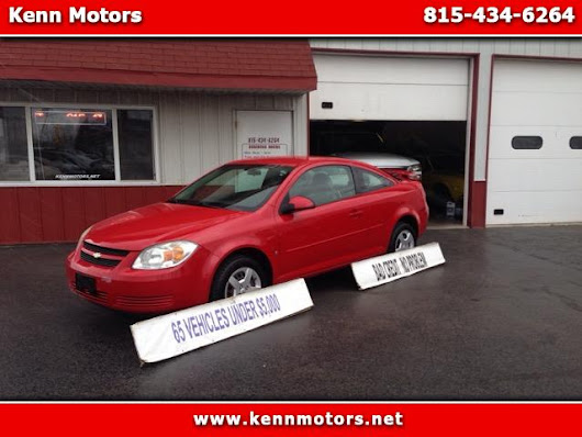 Used 2008 Chevrolet Cobalt LT1 Coupe for Sale in Ottawa IL 61350 Kenn Motors