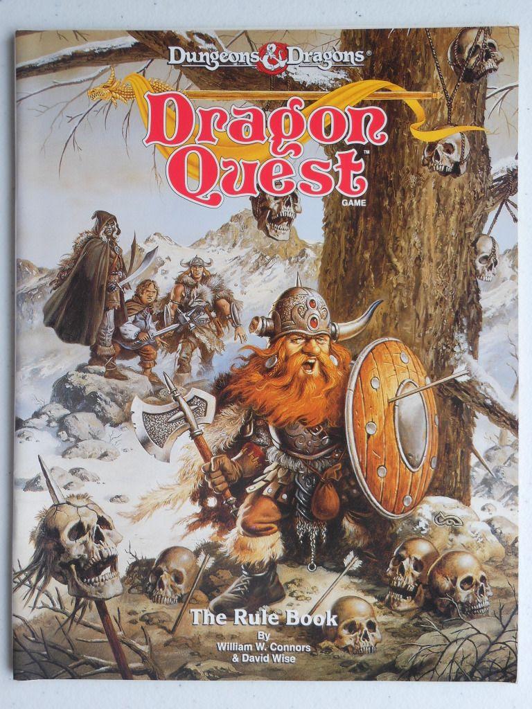 Dragon Quest rule book