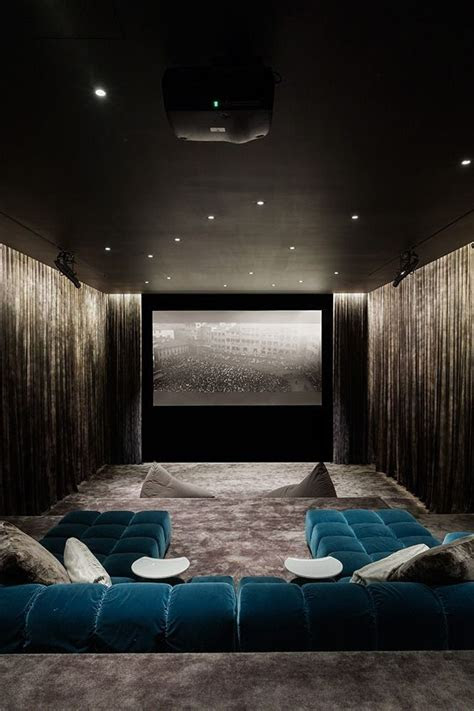 home theater design ideas  pinterest luxury