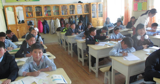 CLICK HERE to support English Learning Center for Mongolian Girls & Boys