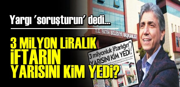 AKP'Lİ BELEDİYENİN SKANDALINA YARGI ELİ!