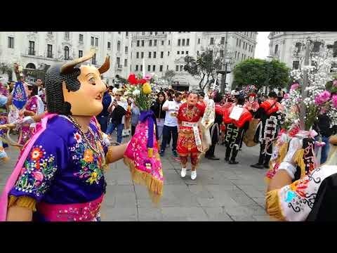 Danza de Diablos de Cajabamba ocupa tercer lugar en Concurso Nacional de Pasacalle Folklórico