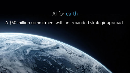 Microsoft and National Geographic announce winners of AI for Earth Innovation Grant