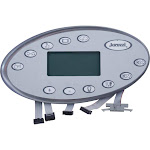 Topside, Jacuzzi J-400 LCD 60Hz Series, 11 Button, 2006-2009