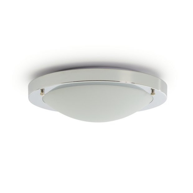 Buy Argos Home Bowdon Led Flush Bathroom Ceiling Light Bathroom Lights Argos