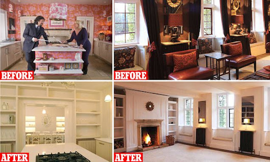 Laurence's magnolia makeover (well, he has got a £1.6m house to sell)