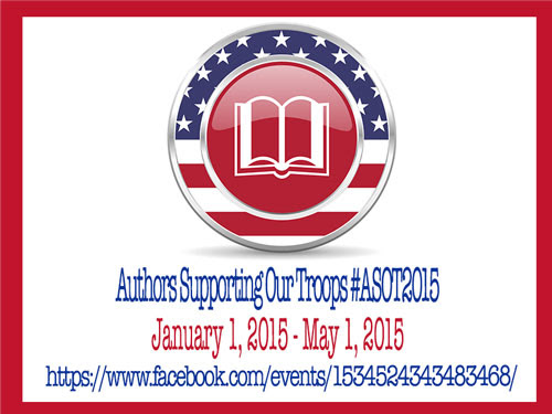 Authors Supporting Our Troops - February 2015 Totals #ASOT2015