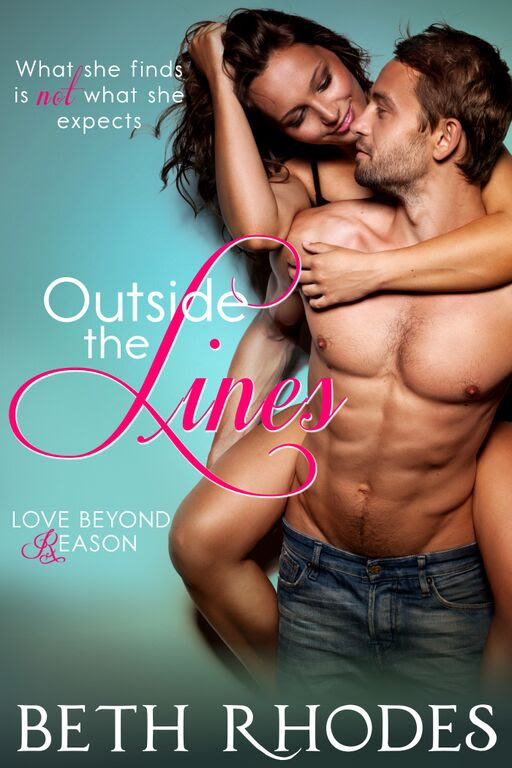 Outside The Lines by Beth Rhodes Cover Reveal with giveaway