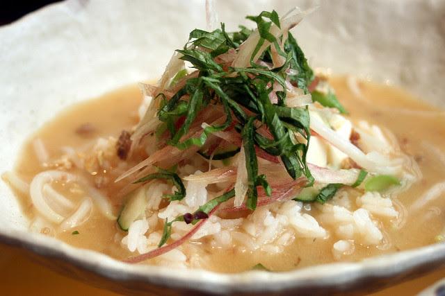 Hiyajiru Gohan - Kyushu region special cold soup with rice