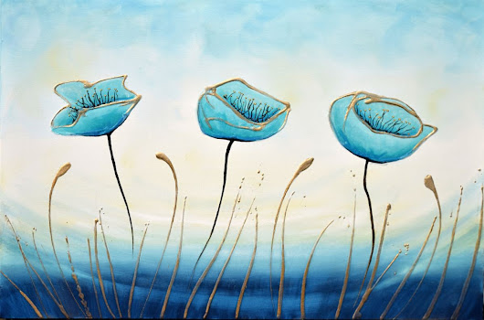 Tranquil Trio (2016) Acrylic painting by Amanda Dagg