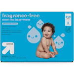 Fragrance Free Baby Wipes Refill Pack - 800ct - Up&Up