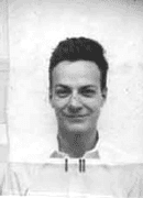 Richard Feynman's ID photo during the Manhattan Project, from Los Alamos National Laboratories