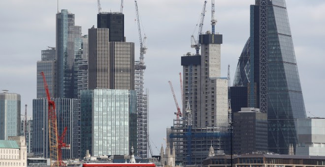Edificios de la City de Londres.REUTERS/Peter Nicholls