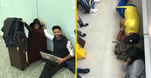 Photo of Sonam & Anand Ahuja sitting on floor recalls the moment of MS Dhoni and Sakshi's viral pic! Check here