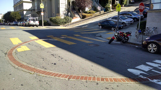 What's beneath those brick circles in San Francisco intersections?