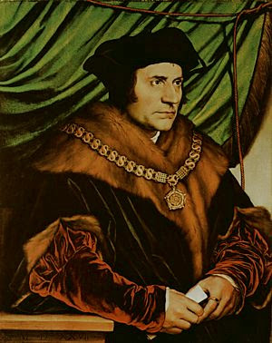 Sir Thomas More,  Hans Holbein, the Younger, 1532-1533