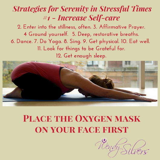 Place the Oxygen Mask on your face first - Million Mamas Movement