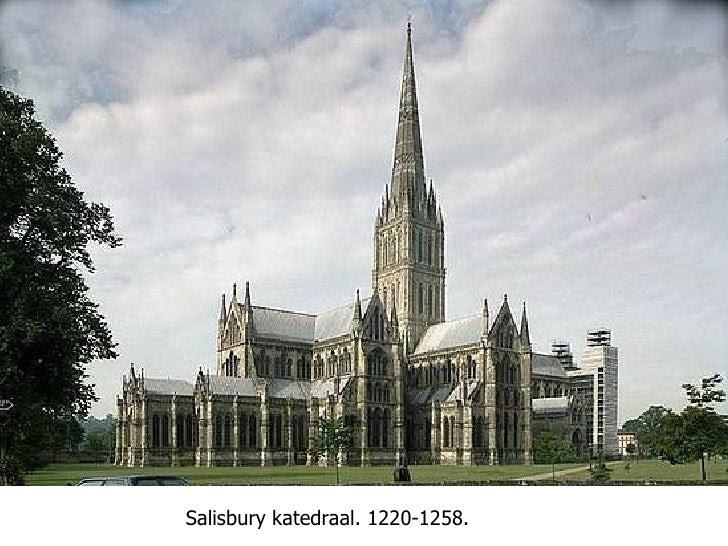 Salisbury katedraal. 1220-1258.