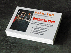 Business planning cards