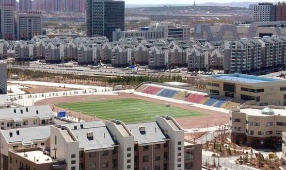 Ordos was built for one million people but remains largely deserted