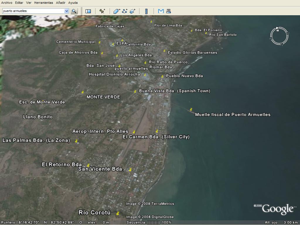 Puerto Armuelles Tierra De Las Arenas Bienvenidos A