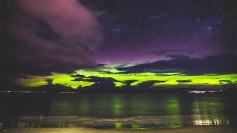 hd hintergrundbilder ufer leuchten sonnenuntergang meer