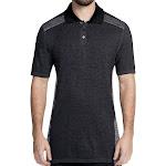Skechers GoGolf Seamless Polo Golf Shirt, Small Charcoal