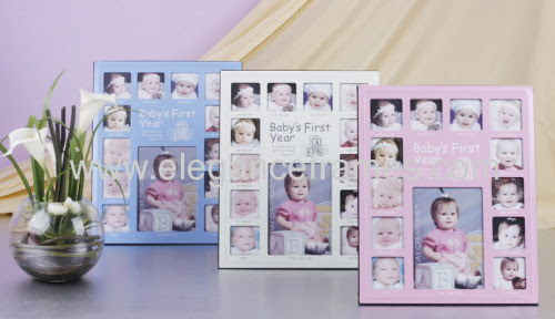 High Quality 12 Months Baby Photo Frame From China Manufacturer