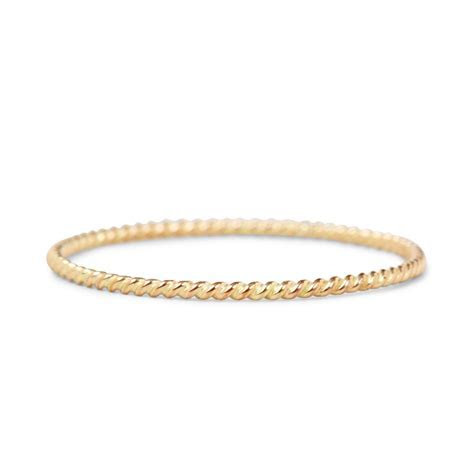 Catbird, Twisted Stacker Ring