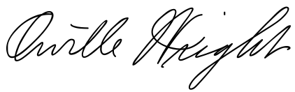 File:Orville Wright Signature.svg