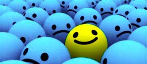 The meanings of colors. Is yellow happy, is blue is sad?