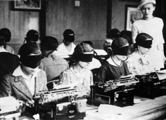 Blindfolded Typing Competition